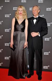 Claudia Schiffer and Lutz Bethge at the