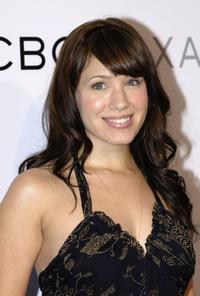 Marla Sokoloff at the opening of the new BCBG Max Azria Flagship Store.