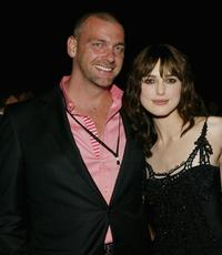 Ray Stevenson and Keira Knightley at the after party of the world premiere of