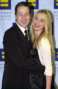 French Stewart and his wife Katherine La Nasa at the 10th Annual Human Rights Campaign Gala.