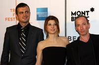 Sergej Trifunovic, Marisa Tomei and Mark Leyner at the premiere of