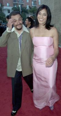 Martin Astles and Kristen Wilson at the premiere of