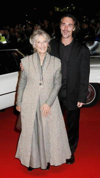 Phyllida Law and Greg Wise at the Times BFI 50th London Film Festival gala screening of