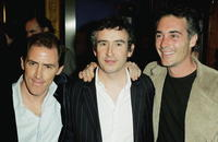 Rob Brydon, Steve Coogan and Greg Wise at the UK premiere of