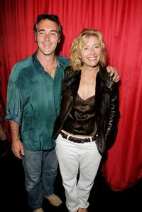 Greg Wise and Emma Thompson at the Electric Ballroom to attend Paul McCartney exclusive gig.