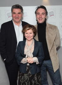 Jim Carter, Imelda Staunton and Greg Wise at the Television And Radio Industries Club (TRIC) Awards.