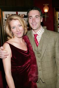 Emma Thompson and husband Greg Wise at the premiere of
