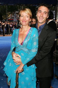 Emma Thompson and Greg Wise at the World Charity premiere of