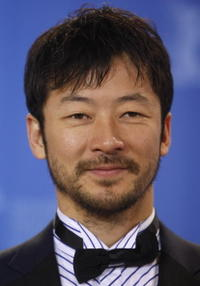 Tadanobu Asano at the photocall for