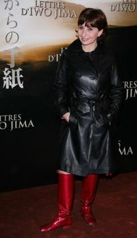 Ariane Ascaride at the premiere of