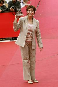 Ariane Ascaride at the closing day of Rome Film Festival (Festa Internazionale di Roma).