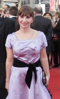 Ariane Ascaride at the screening of