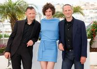 Stephane Aubier, Jeanne Balibar and Vincent Patar at the 62nd International Cannes Film Festival.