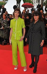 Jeanne Balibar and Marjane Satrapi at the 61st International Cannes Film Festival.