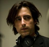 Noah Baumbach on the set of