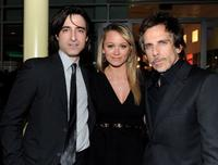 Noah Baumbach, Christine Taylor and Ben Stiller at the premiere of