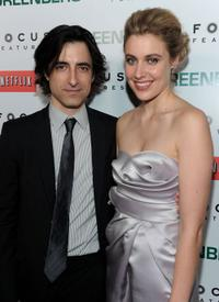 Noah Baumbach and Greta Gerwig at the premiere of