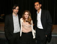 Noah Baumbach, Jennifer Jason Leigh and Rajendra Roy at the special screening of