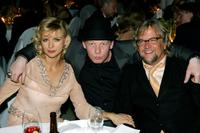 Veronica Ferres, Ben Becker and Martin Krug at the Goldene Feder 2006 Awards.
