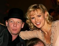 Ben Becker and Veronica Ferres at the Goldene Feder 2006 Award.