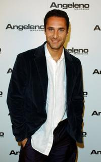 Raoul Bova at the Angeleno Magazine's 4th Anniversary party.