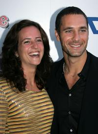 Chiara Giordano and Raoul Bova at the premiere of