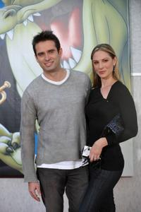 Bruno Campos and Paula Marshall at the world premiere screening of
