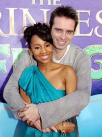 Bruno Campos and Anika Noni Rose at the premiere of