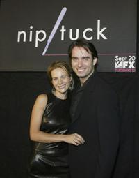 Greer Shephard and Bruno Campos at the 3rd season premiere screening of