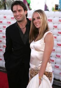 Bruno Campos and Guest at the Fox All-Star Television Critics Association party.