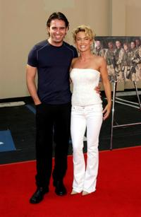 Bruno Campos and Kelly Carlson at the FX screening of