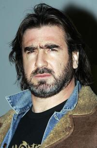 Eric Cantona at the Nike Joga Bonita event.