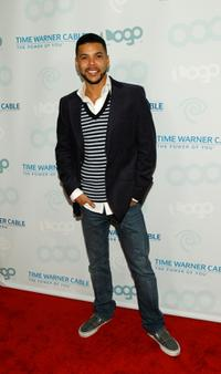 Wilson Cruz at the launch party for MTV Networks LOGO Channel on Time Warner Cable.