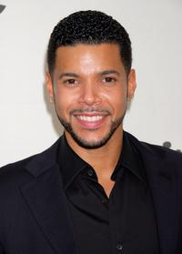 Wilson Cruz at the Envelope Please Oscar Viewing Party.