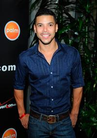 Wilson Cruz at the Verizon Palm Centro Launch Party.