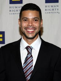 Wilson Cruz at the Human Rights Campaigns Annual Los Angeles Gala.