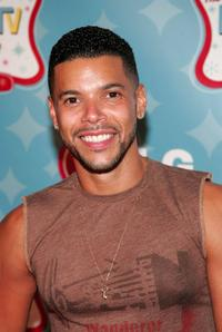 Wilson Cruz at the LGs Mobile TV Party.