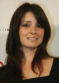 Shiri Appleby at the Intuition party for the launch of the Target Couture line by the founder of Intuition Jaye Hersh.