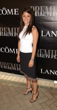 Shiri Appleby at the premiere Magazine's