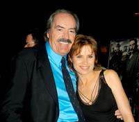 Powers Boothe and Kim Dickens at the premiere of
