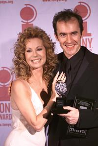 l-r Kathy Lee-Gifford and Stephen Dillane at the 54th Annual Antoinette Perry Tony Awards.