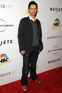 Jeffrey Donovan at the NBC Universal Pre Super Bowl event.
