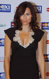 Minnie Driver at the Mastercard FIFPRO World XI Player Awards.
