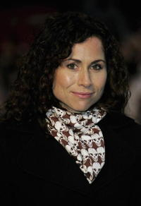Minnie Driver at the premier of