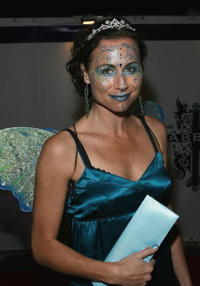 Minnie Driver at the Heidi Klum's 7th Annual Halloween Party.