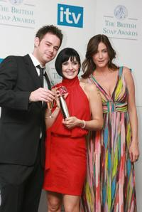 Danny Dyer, Kym Ryder and Lisa Snowden at the British Soap Awards 2007.