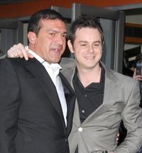 Tamer Hassan and Danny Dyer at the premiere of