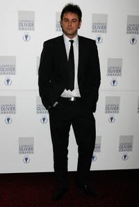 Danny Dyer at the Laurence Olivier Awards.
