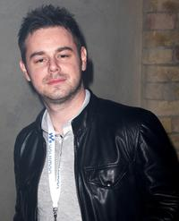 Danny Dyer at the Walkman Spring Fling party.