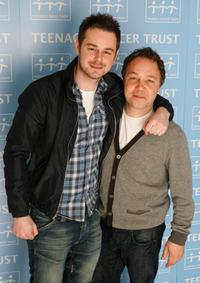 Danny Dyer and Stephen Graham at the Teenage Cancer Trust 2009.